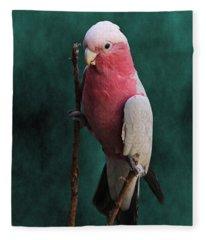 Stiltwalker - Roseate Cockatoo Fleece Blanket