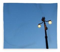 Stockholm Street Lamp Fleece Blanket