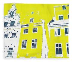 Stockholm Windows Fleece Blanket