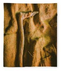 Stone Age Tools Fleece Blanket