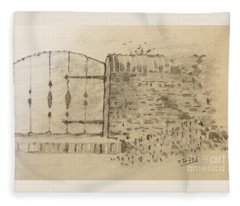 Stone Gate Fleece Blanket