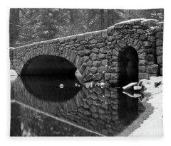 Stoneman Bridge Fleece Blanket