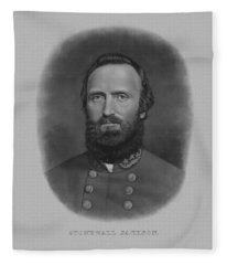 Stonewall Jackson Fleece Blanket