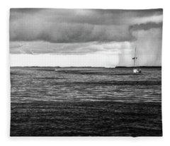 Storm Approaching Fleece Blanket