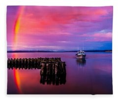 Storm Chaser Fleece Blanket