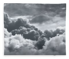 Storm Clouds Over Sheboygan Fleece Blanket