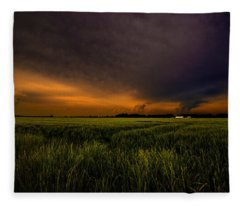 Storm Front  Fleece Blanket