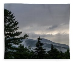 Storm Is Clearing Fleece Blanket