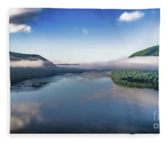 Storm King And The Highlands Fleece Blanket