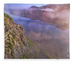 Storm King Highway Fleece Blanket