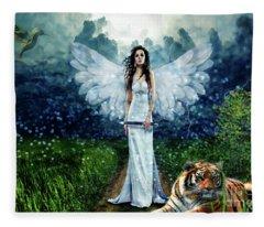 Storm Maiden Fleece Blanket