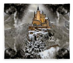 Storm Surge  Fleece Blanket