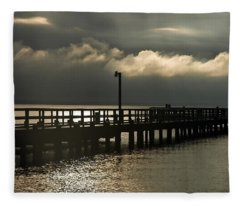 Storms Brewin' Fleece Blanket