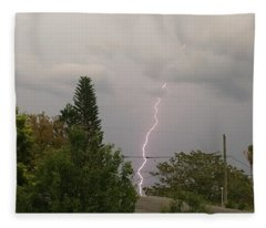 Storms Rolling In Fleece Blanket