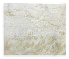 Stormy Shore Fleece Blanket