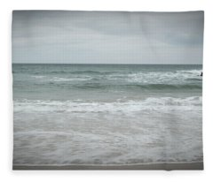 Stormy Sky Fleece Blanket