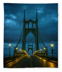 Stormy St. Johns Fleece Blanket