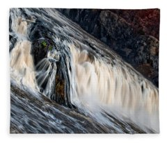 Stormy Waters Fleece Blanket