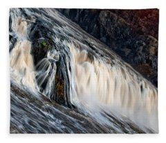 Stormy Waters Fleece Blanket
