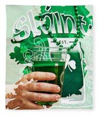 St. Patrick's Day Fleece Blanket