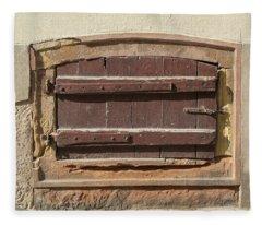 Strasbourg Cellar Door Fleece Blanket