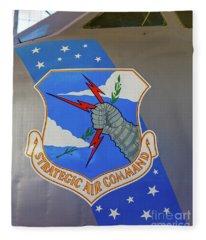 Strategic Air Command Fleece Blanket