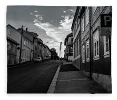 Street In Toyen Fleece Blanket