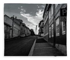 Street In Toyen Fleece Blanket