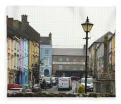 Streets Of Cahir Fleece Blanket