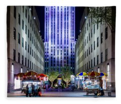 Rockefeller Center Fleece Blanket