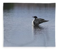 Stretching Your Wings Fleece Blanket