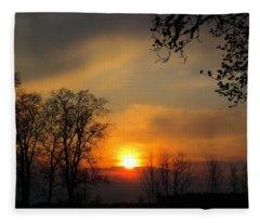 Striking Beauty Fleece Blanket