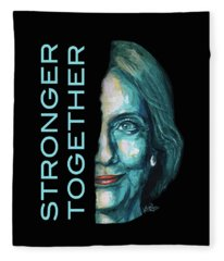 Stronger Together Fleece Blanket