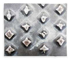 Studded Metal Fleece Blanket