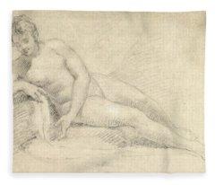 William Hogarth Fleece Blankets