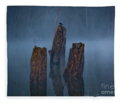Stumped Fleece Blanket