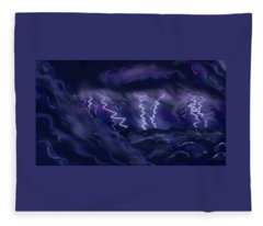 Sturm Und Drang Fleece Blanket