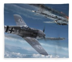 Sturmstaffel Fleece Blanket