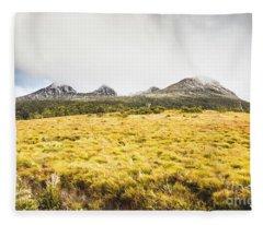 Sub Alpine Range Fleece Blanket