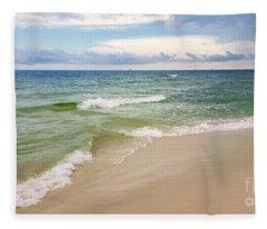 Sublime Seashore  Fleece Blanket