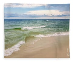 Sublime Seashore  Fleece Blanket