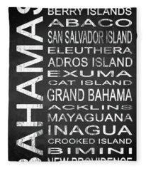 Subway Bahamas 1 Fleece Blanket