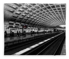 Subway Station Fleece Blanket