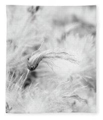 Suendermann Dryad Seedhead Monochrome Fleece Blanket