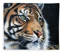 Sumatran  Fleece Blanket