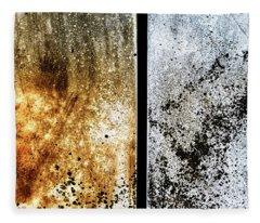 Summer And Winter Art Mold Fleece Blanket
