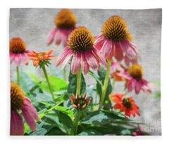 Summer Beauties Fleece Blanket