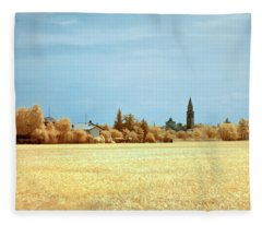 Summer Field Fleece Blanket