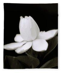Gardenia Fleece Blankets