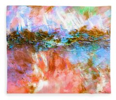 Summer Hues Fleece Blanket